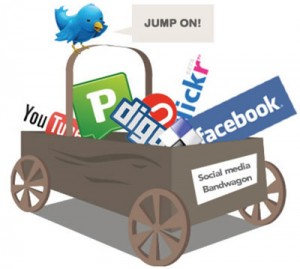 social media 300x269 The Power of Social Networks – Prospects find YOU
