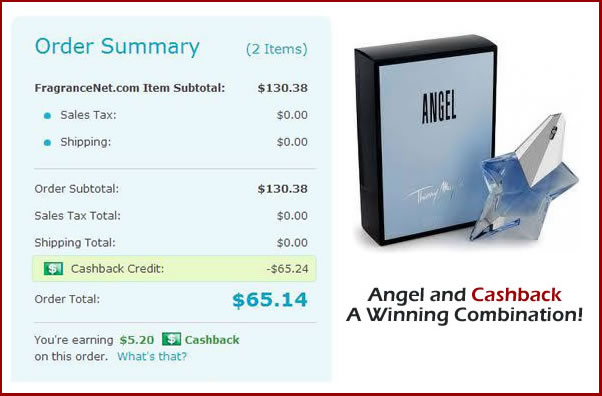 Angel and Cashback Angel and Cashback A Winning Combination!