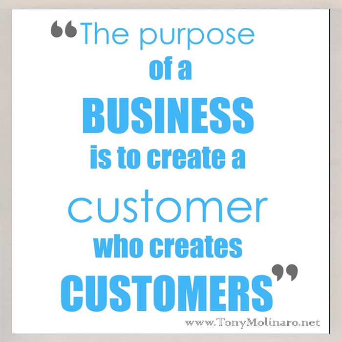 Purpose of a business