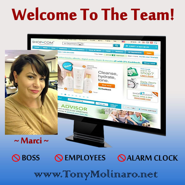 Welcome Marci