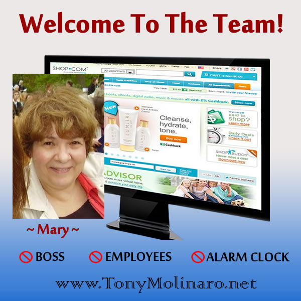 Welcome-Mary